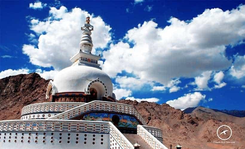 Ladakh Temple View