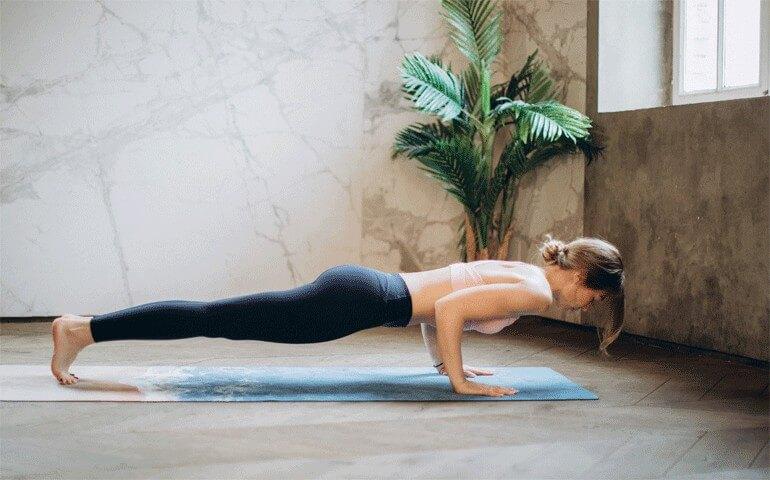 Vinyasa Yoga Benefits  Building Body Strength