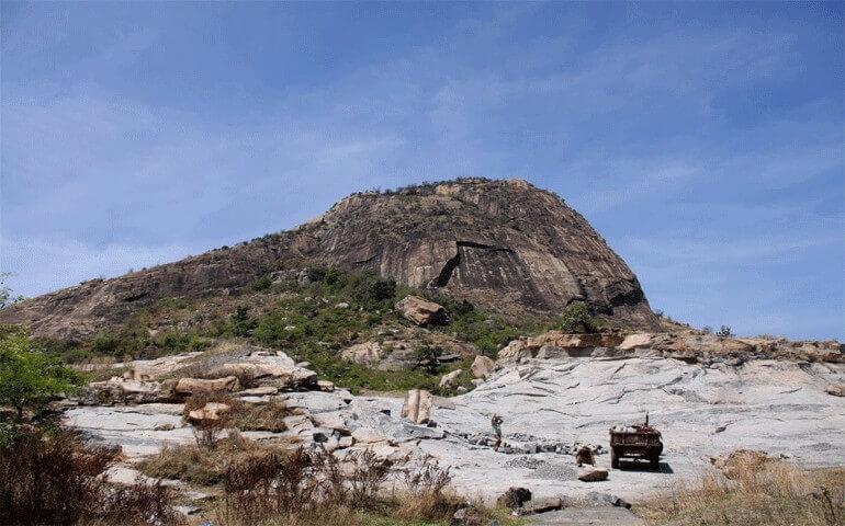 Kabbaldurga-hills