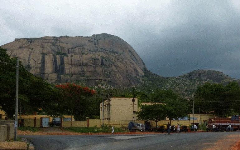 Madhugiri-hills