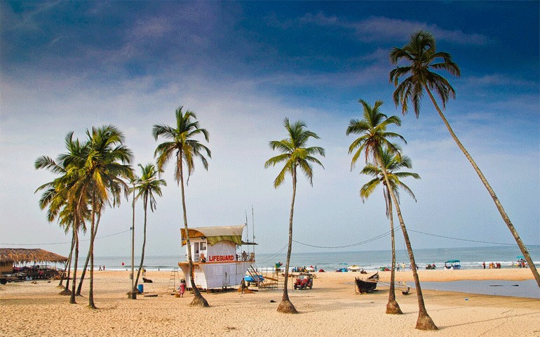 Colva Places to visit in South Goa