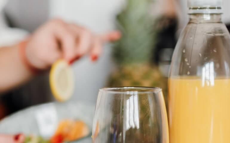 Papaya juice  for healthy immune