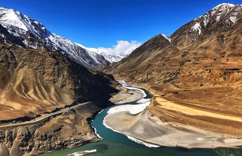 Sham Valley Trek Apricot Valley Leh Ladakh