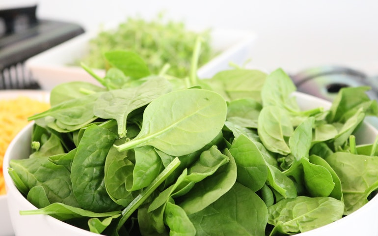 Spinach for healthy immune