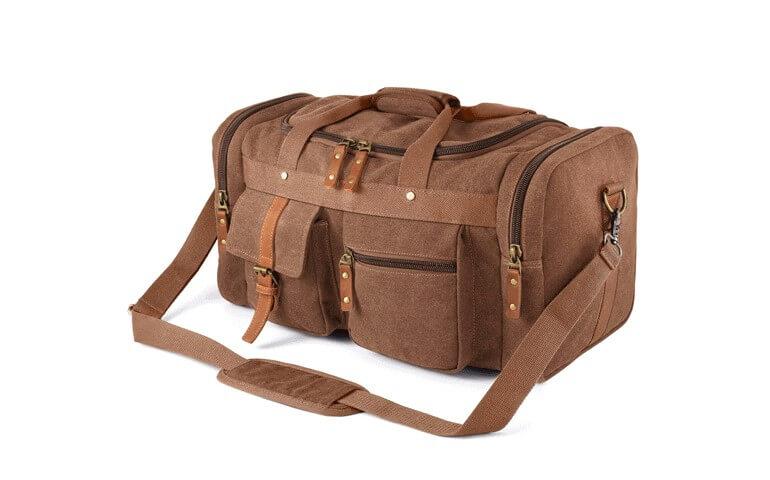 Plambag Canvas duffel Bag