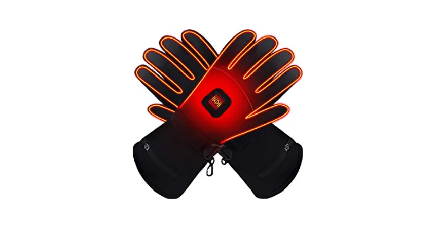 Global Vasion Electric Touchscreen Heated Gloves With Rechargeable Batteries