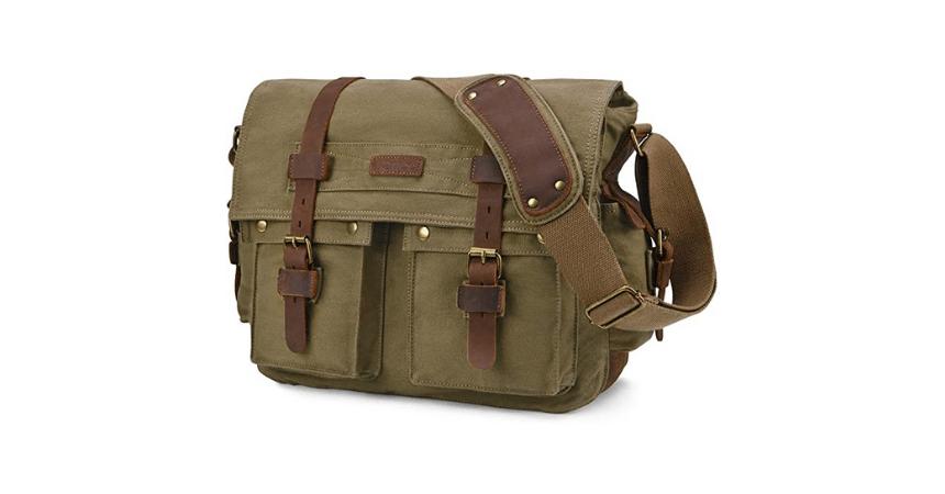 Kattee Mailitary Messenger Bag