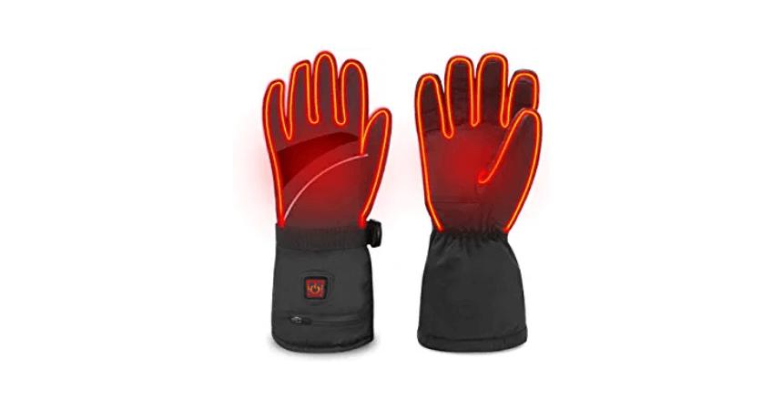WAMTHUS Touchscreen Waterproof Heated Gloves