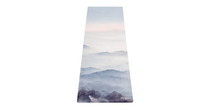 Yoga design lab foldable yoga towel mat